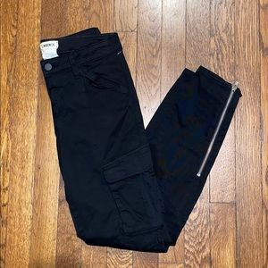 Brand new L'AGENCE black cargo pants